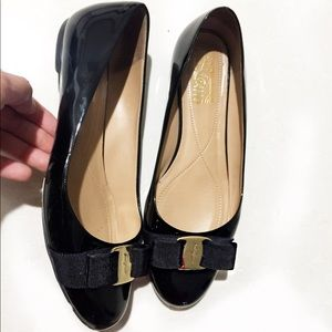 Varina Leather Flat Salvatore Ferragamo